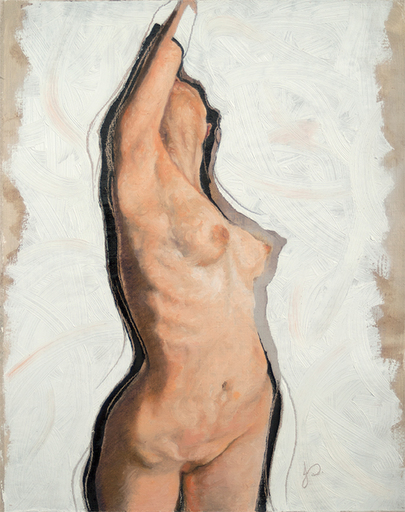 Nude Female Oil Painting by Jacqueline Gomez